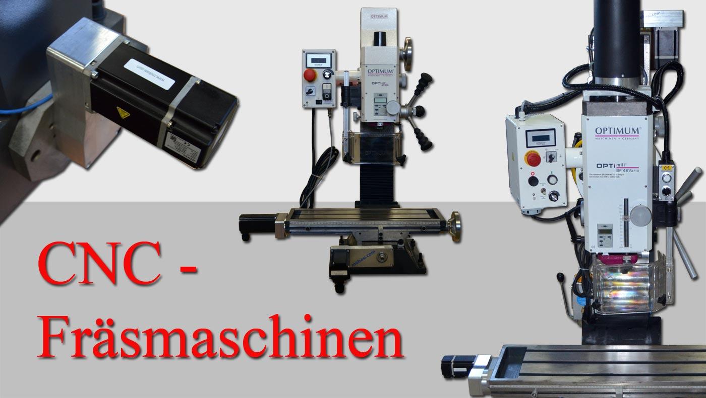 CNC Fräsmaschinen von Mobasi