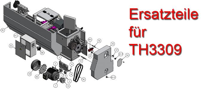 Optimum Drehmaschinen TH-3309 Ersatzteile