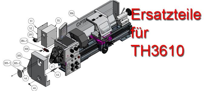 Optimum Drehmaschinen TH-3610 Ersatzteile