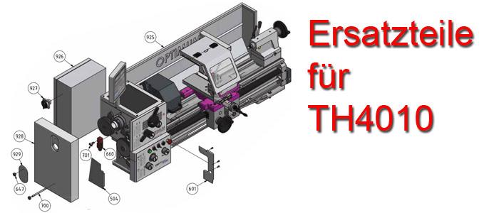 Optimum Drehmaschinen TH-4010 Ersatzteile
