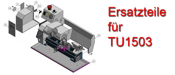 Optimum Drehmaschinen TU-1503 Ersatzteile
