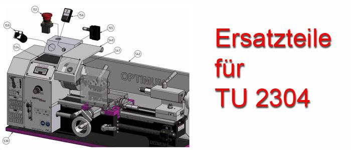 Optimum Drehmaschinen TU-2304 Ersatzteile