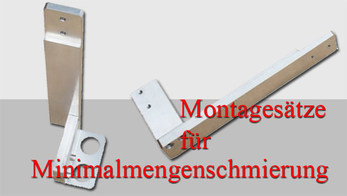 Montagehalter für Minimalmengensystem