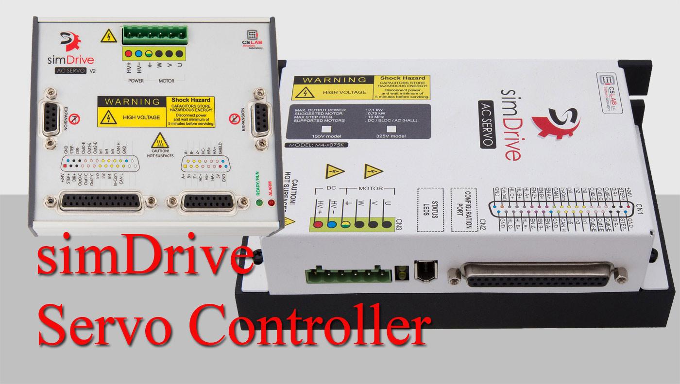 simDrive Servo Controller