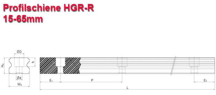 Linearschiene für HGH - HGW
