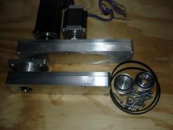 CNC-Anbausatz Drehmaschine Wabeco D6000 incl. Schrittmotoren