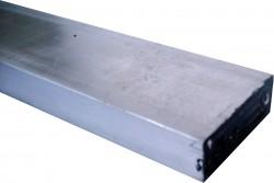 Aluminium flach 100 x 50