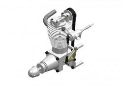 1-Zylinder Viertaktmotor