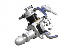 2-Zylinder V-Motor