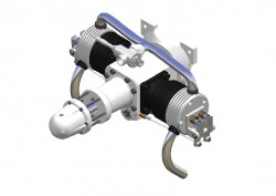 2-Zylinder Boxer-Motor