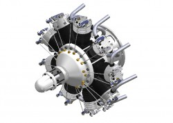 9-Zylinder-Sternmotor