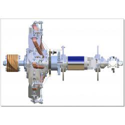 9-Zylinder-Umlaufmotor Oberursel URII