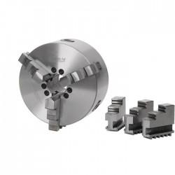 Dreibackendrehfutter ø 200 mm Camlock DIN ISO 702-2 Nr. 4 zentrisch spannend