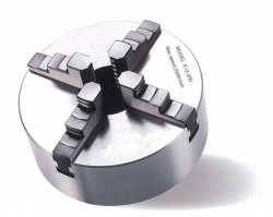 Vierbackendrehfutter Ø 200 mm Camlock DIN ISO 702-2 Nr. 4 einzeln