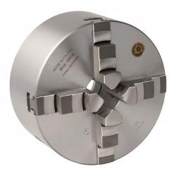BISON Vierbackendrehfutter ø 200 mm Camlock DIN ISO 702-2 Nr. 4 zentrisch spannend