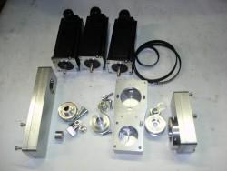 CNC-Anbausatz MH 20 incl. Motoren