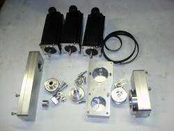 CNC-Anbausatz MH 22 incl. Motoren