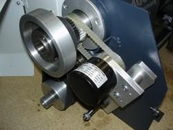 Encoder Anbauflansch f.Wabeco D6000 / Opti 240 x 500