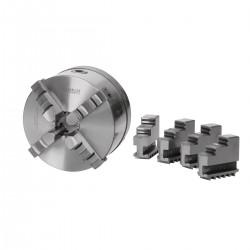 Vierbackendrehfutter Ø 200 mm Camlock DIN ISO 702-2 Nr. 4 zentrisch spannend