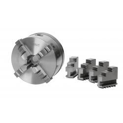 Vierbackendrehfutter Ø 160 mm Camlock DIN ISO 702-2 Nr. 4 zentrisch
