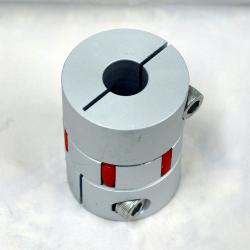 Wellenkupplung 14 x 14 mm lxb 55x40mm