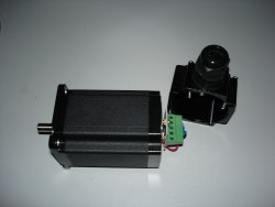 Schrittmotor SH2110-20-8 mit Kappe