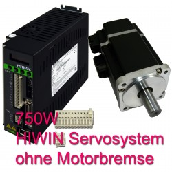 Hiwin Servosystem 750W ohne Kabel