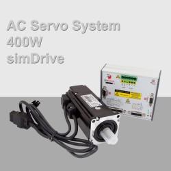 simDrive AC Servo System 400W Set