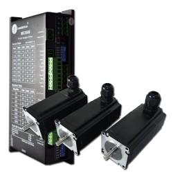 MX3660 Steuerung + 3 Schrittmotoren 4,2A 2,5Nm