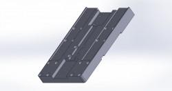 Grundplatte Achsschlitten M-PF-72x52